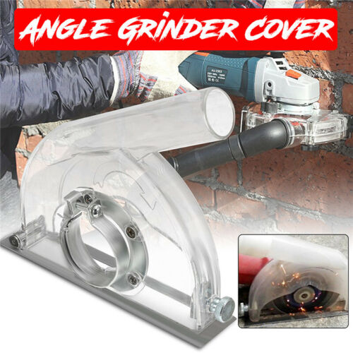 "Clear Cutting Dust Shroud Grinding Cover For Angle Grinder /& 3/""//4/""//5/"" Saw Blades"