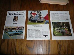 Chevrolet Wagons Impala Caprice Chevy Ii Print Ads Advertising 3