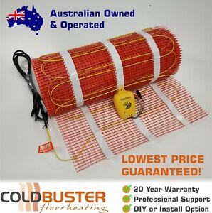 Coldbuster® DIY Floor Heating Kits - Under Tile Electric ...