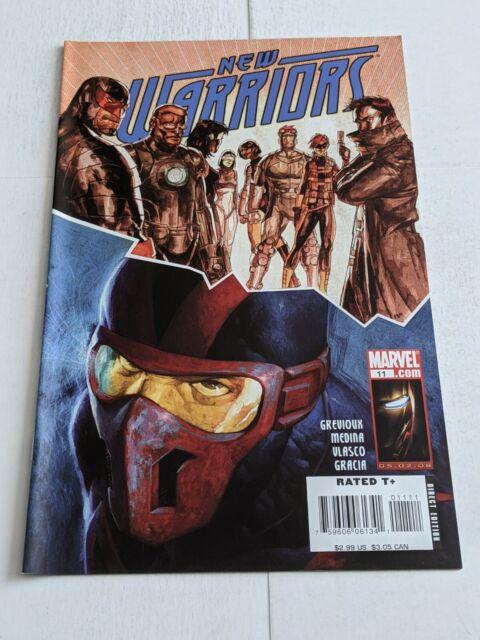 The New Warriors #11 June 2008 Marvel Comics