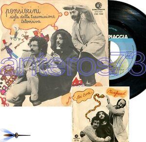 GIANFRANCO-MANFREDI-RICKY-GIANCO-034-PENSIERINI-034-RARO-45GIRI-SIGLA-TV-MINT