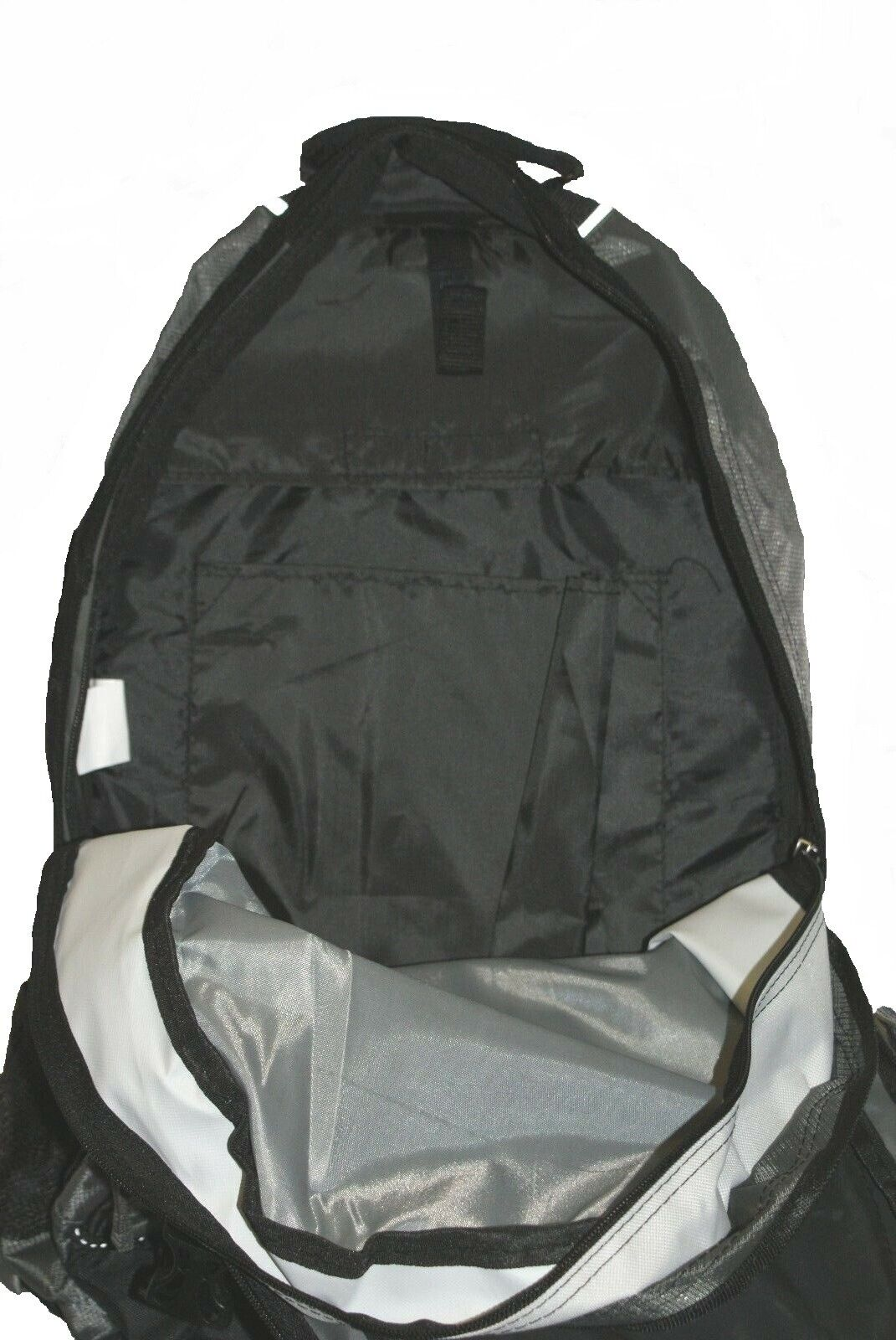Outdoor Products Vortex 8.0 Black White Backpack School Travel Hiking Camp 6C3
