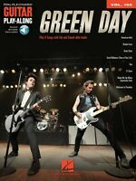 Green Day Sheet Music Guitar Play-along Book And Audio 000210343