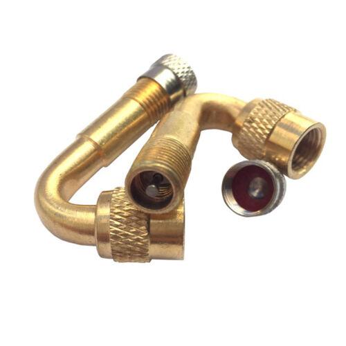 1X Luftreifenventil 45//90//135 Grad-Winkel-Verlängerungsrohre für Auto  s O2M8