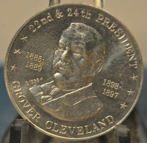 1968 Shell/'s Mr President/'s Coin Game Token Grover Cleveland