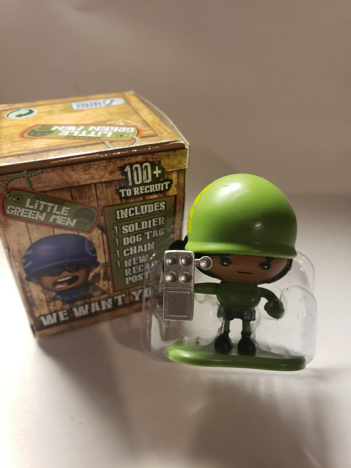 BOMBASTIC Blue Awesome Little Green Men #62 SGT