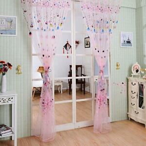 See Through Curtains see-through blue pink curtain window curtains screen balloon