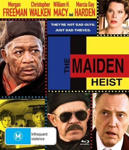 1 of 1 - The Maiden Heist (Blu-ray, 2010)