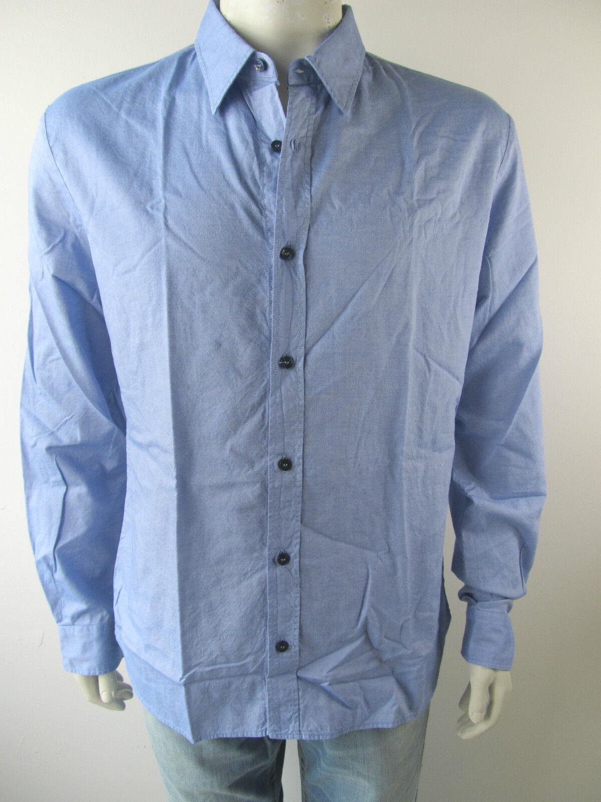 John Galliano Jeans Hemd Shirt Camicia XR26B1 Neu 54 L XL     Vorzugspreis