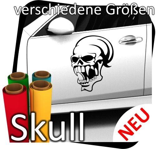 Totenkopf Skull Skulls Sticker Aufkleber Autoaufkleber Motorrad Wandtattoo 38