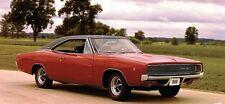 68 69 70 Dodge Charger BLACK BOAR Vinyl Top/Mopar New
