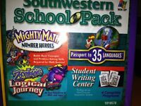 Southwestern School Pack Passport To 35 Languages,mighty Math,student Writing Ce