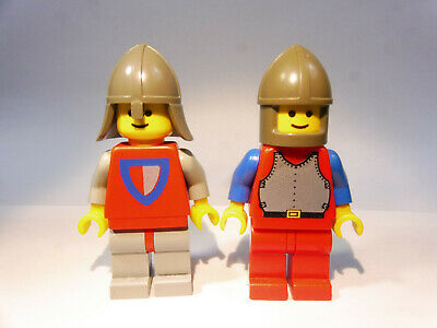 1 x Lego System Zubehör Rüstung Figur Ritter Castle Knights Kingdom Motorrad Hel