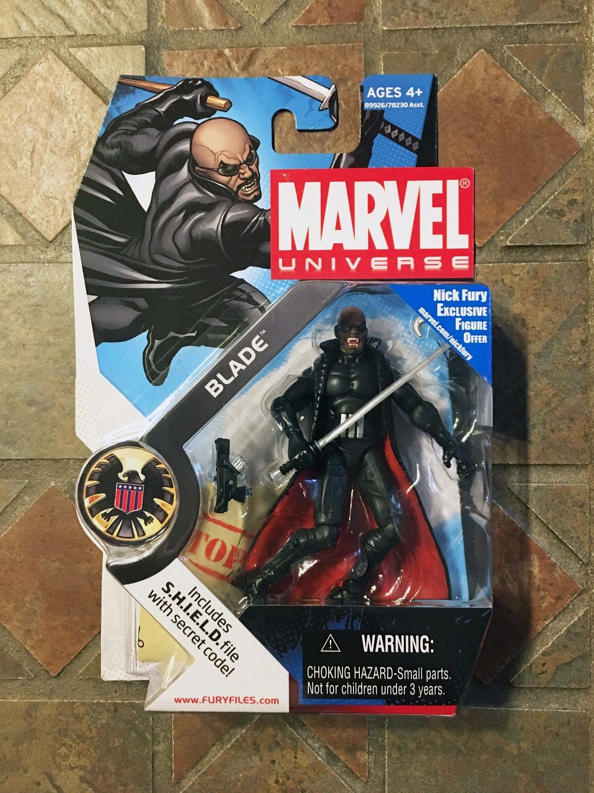 Marvel Universe BLADE figure Series X-Men Avengers Vampire Hunter