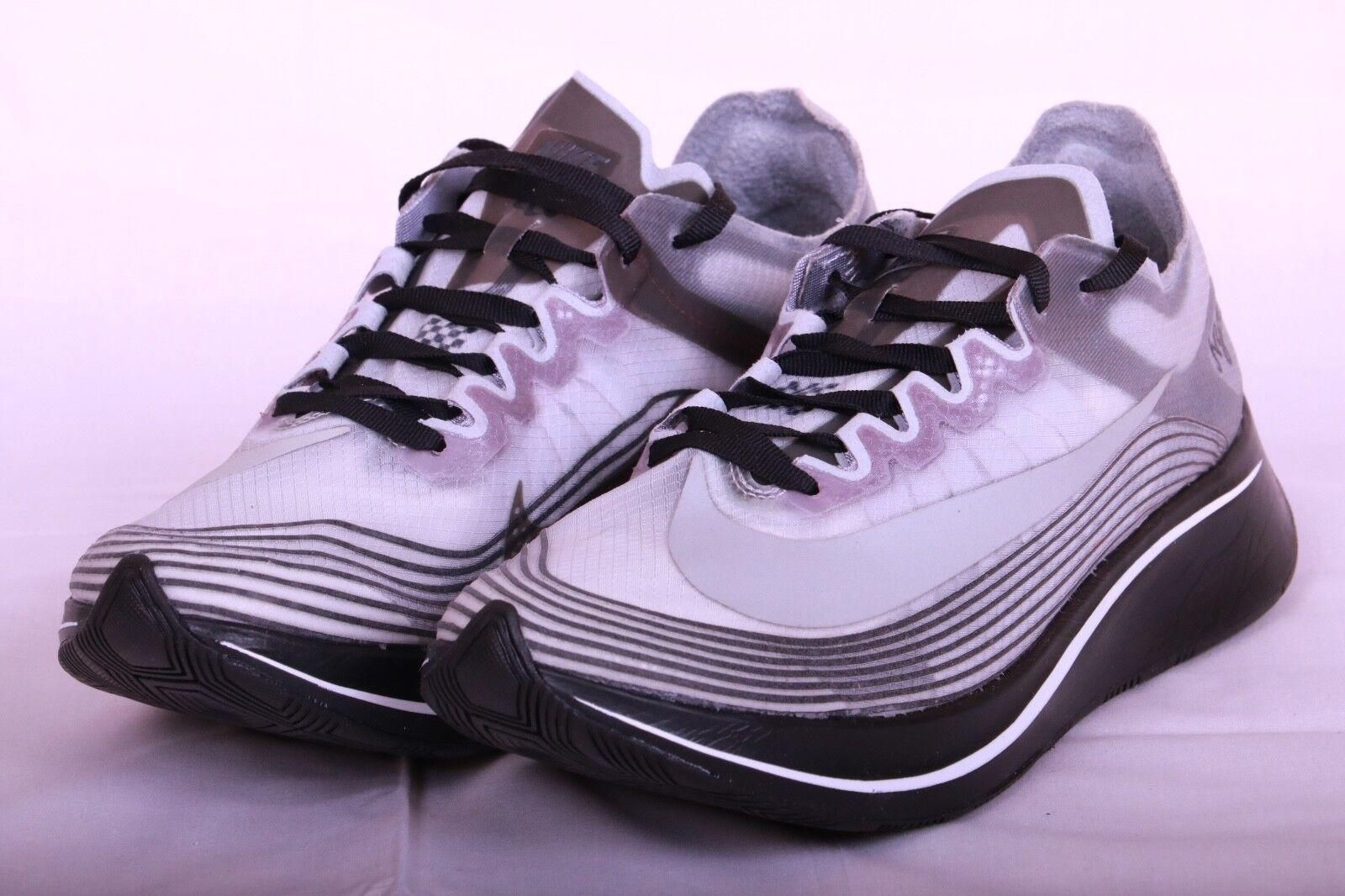 adf441c3bd018 Mens NikeLab Zoom Fly SP NYC Metallic Silver White Black Ah5088-001 ...
