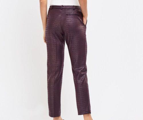 Women Slim Leg Leggings Ladies Faux leather /& mock Croc trousers Fashion wear