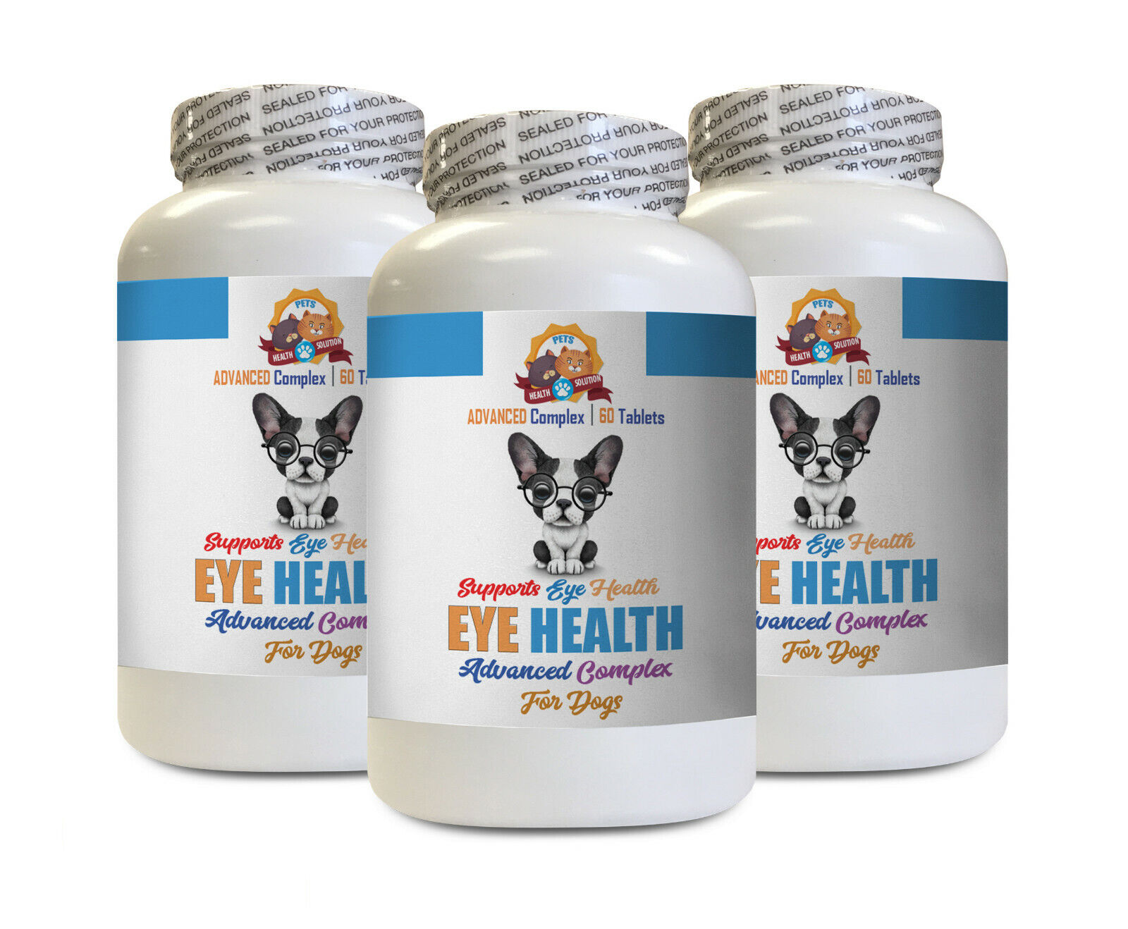 Dog eye vitamins support - DOG EYE HEALTH SOLUTION - eye support for dogs 3B