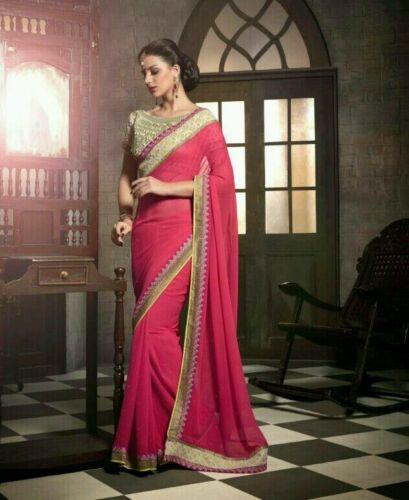 partij ontwerper Bollywood etnische Sari traditionele dragen Indiase Lehenga Saree nieuwe UTcBnWv