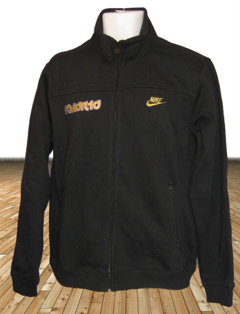 NEW Vintage  Nike MADRID 2007 Jackets Black Large