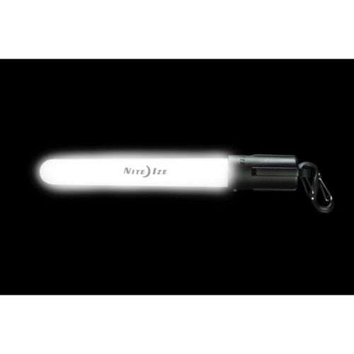 2-Pack Nite Ize LED Mini Glowstick White Waterproof Reuseable Safety Light