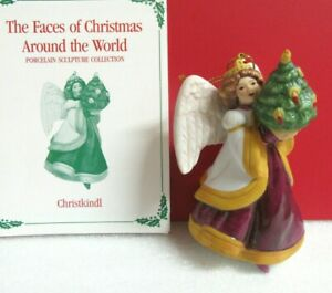Franklin Mint CHRISTKINDL The Faces of Christmas Around ...