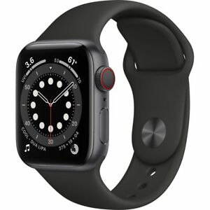Apple Watch Series 6 40 mm GPS + Cellular (2020 ) Space Grey Aluminium Case