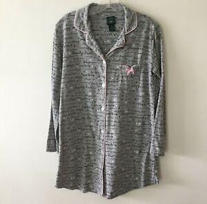Laura-Ashley-Nightgown-Night-Shirt-Women-039-s-Small-NWOT