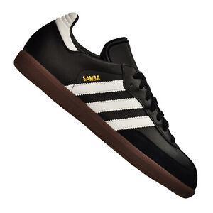 adidas-Samba-Hallenschuh-Leder-Schwarz-Weiss