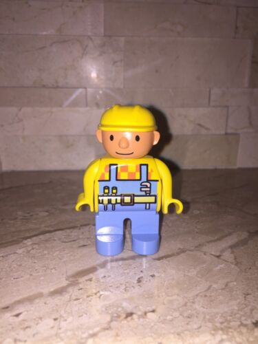 LEGO DUPLO BOB THE BUILDER FIGURE ONLY