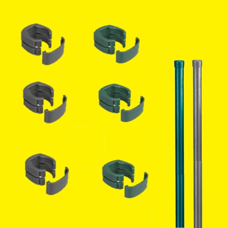 fix clip pro zaunpfosten fuer fix clip zaun mit oder ohne