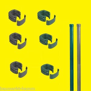 FIX - CLIP Pro Zaunpfosten für Fix-Clip Zaun mit oder ohne Clip ...