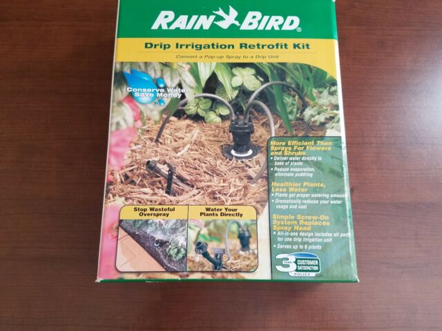 Rain Bird Drip Irrigation Retrofit Kit DC-6