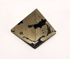 LARGE PYRITE Mineral pyramid 55x55 mm healing reiki #In58-1  INDIA