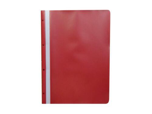 rot Archiv-Hefter mit Lochung zum Abheften 100 Ablage-Schnellhefter Farbe