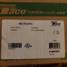 Taco 007 F5 7ifc Cast Iron Circulator Pump