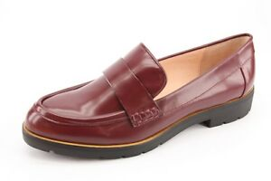 f5f4093ff8ad NEW Kate Spade New York Karry Burgundy Leather Lug Loafers sz 10 ...