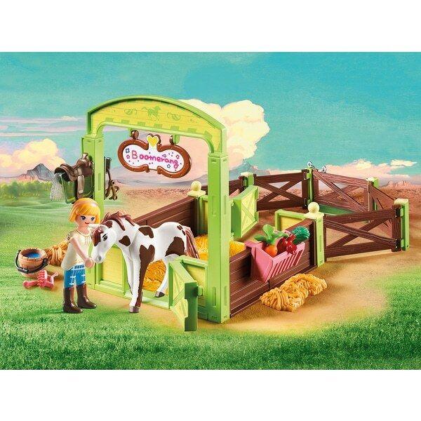 PLAYMOBIL 9480 DREAMWORKS Spirit Cavallo Box  Abigail & BOOMERANG