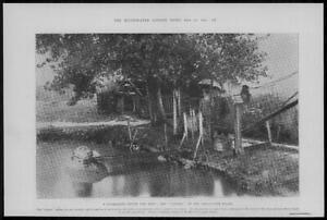1902-Antique-Print-FRANCE-Saint-Ouen-Docks-The-Goubet-Submarine-Debt-283