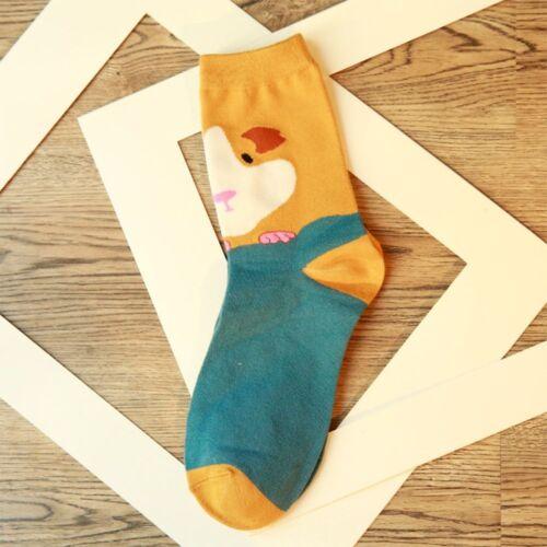 Cartoon Lovely Girl Tube Socks Animal Pattern Cotton Socks Socks