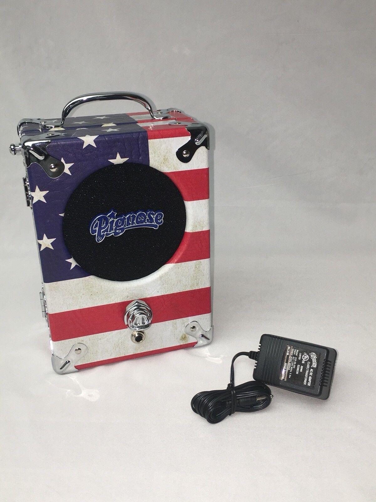 Pignose Old Glory Glory Glory 1776 Amplificador De Guitarra Alimentado por Batería con Adaptador 110 V o 220  precio mas barato
