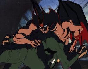 Devilman-OVA-The-Birth-Anime-Cel-Akira-Fudo-Devilman-vs-Monster-Go-Nagai-1987