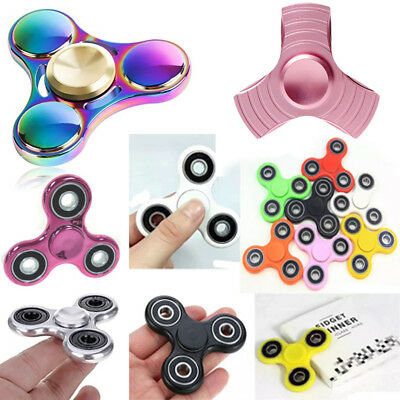 Rose Bangers doigt Spinner main Focus Spin Tri steel EDC portant STRESS Toy