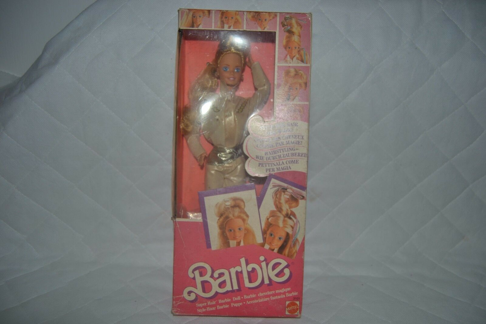BARBIE SUPER HAIR  3101 3101 3101 1986 MATTEL like New 5d2f0a
