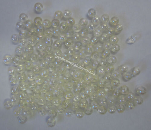 New 15g Acrylic Round Beads Assorted Colors Bead for Beading Craft Scrapbooking
