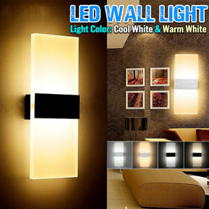 W-LED-Wall-Light-Walkway-Lights-Bathroom-Light-Cube-Indoor-Lamp-Fixture-Decor
