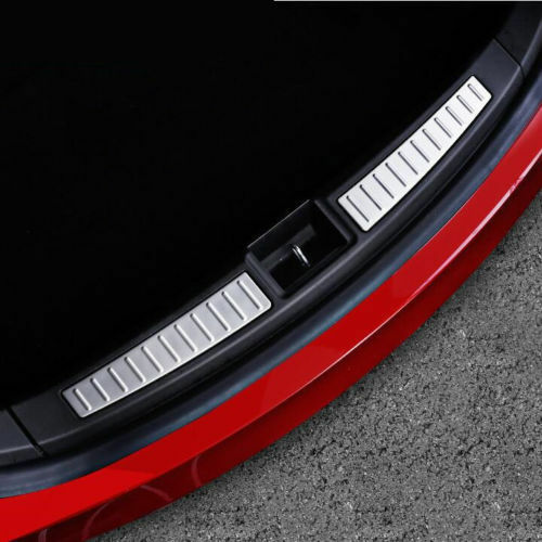 For Accessories Tesla Model S Rear Bumper Protector Stainless Steel 2012-2018