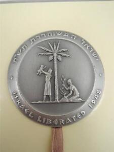 1962-Judea-Capta-Israel-Liberation-II-State-Medal-59mm-115g-Silver-Gift-Box
