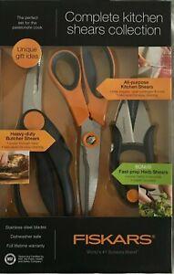 Fiskars Complete Kitchen Shears Collection Ebay