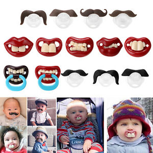 Dummy Teeth Baby Boy Girl Lovely Cute Pacifier Orthodontic Soother Nipples B