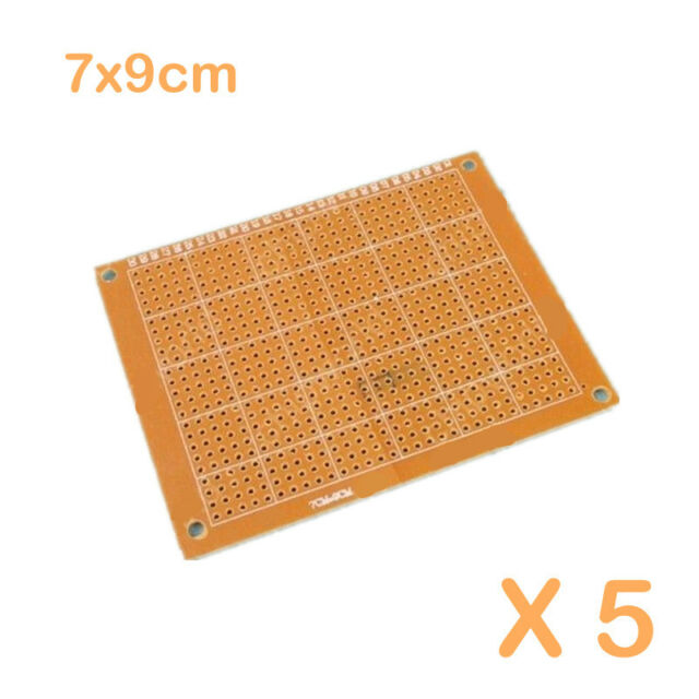 5pcs 7 X 9 cm 7*9cm DIY Prototype Paper PCB FR4 Universal Board Prototyping PCB